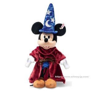 画像1: 2019年新作☆ シュタイフ ミッキーマウス 魔法使いの弟子 30cm