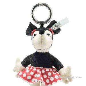 画像2: 【送料無料】 シュタイフ ディズニー ミニーマウス キーリング 12cm