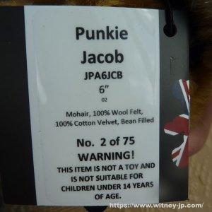 画像5: パンキー・ジェイコブ 15cm  2番