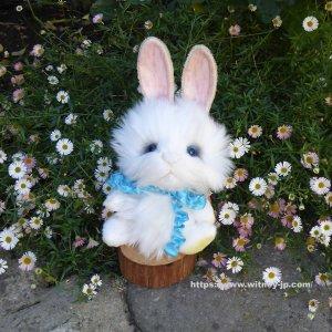 画像1: 2021年新作☆ クレメンス社  ウサギのウィルコ 18cm   12番